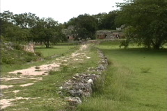 Maya Cities Labna sacbe or road Stock Footage