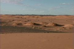 Morocco Low dunes Merzouga Stock Footage