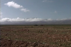 Morocco Nomad tent Middle Atlas Stock Footage