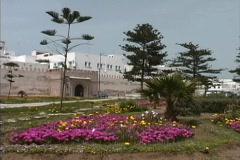 Walls of Essaouira Stock Footage