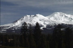 Mount Shasta CA - stock footage