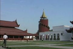 Stock Video Footage of Mandalay Royal Palace