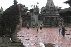 Nepal Durbar square Patan Stock Footage