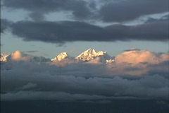 Nepal Himalayan peaks Stock Footage