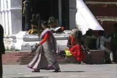 Nepal Katmandu sadus Stock Footage