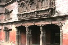 Nepal Katmandu temple Stock Footage