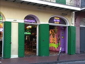 New Orleans Bourbon Street joint Stock Footage