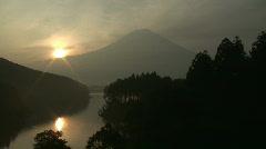 Sunrise At Mount Fuji - stock footage