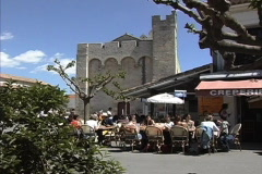 Provence Church Stes-Maries Stock Footage