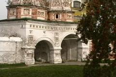 Russia Suzdal monastery tilt Stock Footage