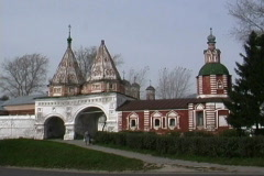 Russia Suzdal monastery Stock Footage