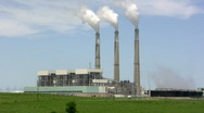 Stock Video Footage of Coal Power Plant