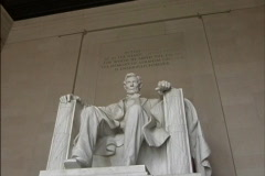 Statue of Lincoln Stock Footage