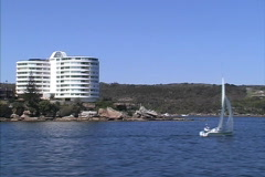 Sydney Approaching Manly Stock Footage