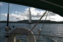 Sailing in Tonga Stock Footage