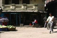 Traffic Katmandu Stock Footage