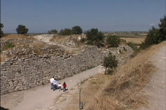 Walls of Troy Stock Footage
