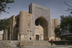 17th century building in Bukhara, Uzbekistan Stock Footage