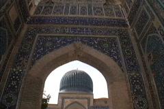 Uzbekistan Timur's tomb Samarkand Stock Footage