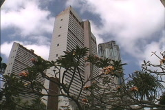 Venezuela Caracas high rise buildings Stock Footage