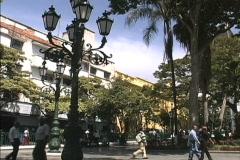 Caracas plaza Stock Footage