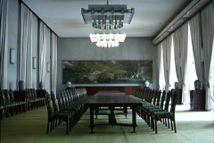Vietnam Conference room in Hall Stock Footage