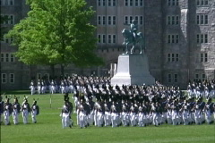 West Point review Stock Footage