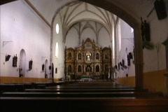 Altar Izamal church Stock Footage
