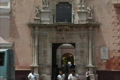 Montejo Palace Merida Yucatan Stock Footage