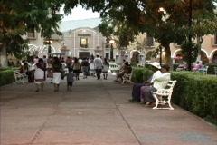 Valladolid plaza Stock Footage