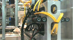 Industrial Robotics 6 HD Stock Footage