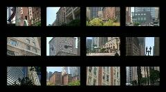 Business, Science, Leasure, Buildings Montage Series - stock footage
