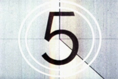 Universal Film Leader Countdown Picture Start V.2 - stock footage