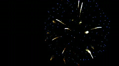 Fire works Stock Footage