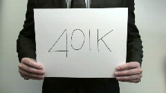 Terms 401K - HD  Stock Footage