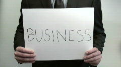 Terms Business 401K - HD  - stock footage
