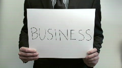 Terms BUSINESS ETHICS - HD  - stock footage