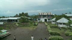 African village c Stock Footage