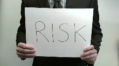 Terms RISK RESULT - HD  Stock Footage
