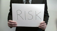 Stock Video Footage of Terms RISK RESULT - HD