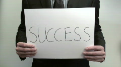 Terms SUCCESS - HD  Stock Footage