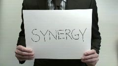 Terms SYNERGY PROFIT - HD  Stock Footage
