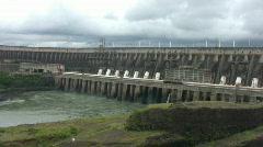 Itaipu Dam - 3 clips Stock Footage