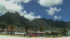 Cape Town Time Lapse Stock Footage