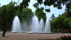 Mexico City Rio de Janeiro Fountain Stock Footage