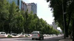 Mexico City - Reforma Stock Footage