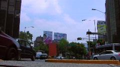 Insurgentes, Mexico City Stock Footage