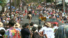 4th of july Parade - 1 of 8 - Time Lapse Stock Footage