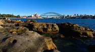 Sydney Harbour Bridge & Opera House PT3 Stock Footage