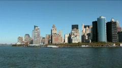 New york skyline Stock Footage